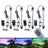 28CM 4.5W SMD5050 RGB LED Acquario Fish Tank Light Light Bar cambia colore sommergibile lampada + 44 Keys remoto Controllo