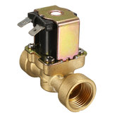 24V 2-Way Normally Closed Valve Brass Electric Solenoid Valves For Air Water