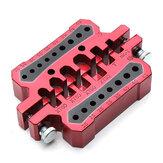 قس سبائك الألومنيوم متعددة الوظائف محطة لحام XT60 XT90 t Banana Plug