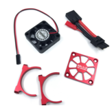 Metal 4X4cm Motor Cooling Fan For GT4 Hobby KM2 TH2 RC Car Vehicle Models