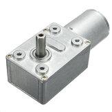 Motor de engrenagem sem-fim Machifit JGB370 DC12V Motor de engrenagem micro DC com eixo oco