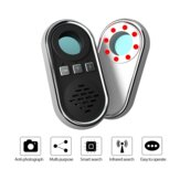 Portable Hide Camera Travel Security Detector Infrared Scanning Shooting Anti-monitoring Detection Sound Light Alarm
