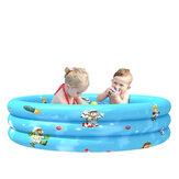 90 / 110cm Kinder Aufblasbare Badewanne Sommer Schwimmwasser Spielmatte Schwimmbad