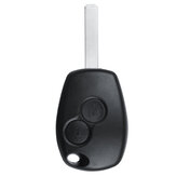 2 Button Remote Key Fob Case + Battery Replace For Renault Twingo Kangoo Master
