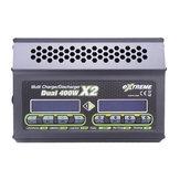 SKYRC Extreme 400WX2 20A Dual تيار منتظم البطارية شاحن Discharger for 1-6S Lipo البطارية
