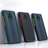 Bakeey for Xiaomi Redmi Note 9 Case Shockproof Anti-fingerprint Matte Translucent Hard PC&Soft TPU Edge Protective Case Non-original