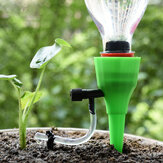Automatic Drip Irrigation System Taper DIY Flowerpot plant Self Watering Device with Adjustable Flow Valve
