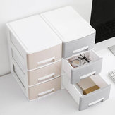 Mini Home Desk Neat Desktop Drawer Makeup Jewelry Necklace Box Storage Desktop Organizer