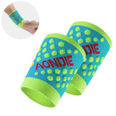 AONIJIE 1 Pair Wristband Fitness Exercise Running Sports Elastic Wrist Support Brace Sweatband
