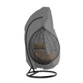 190 / 230CM Polyester Salıncak Asma Sandalye Yumurta Kabuğu Toz Kapağı Su Geçirmez UV Dayanıklı Dayanıklı Kapak