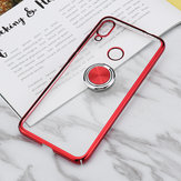 Bakeey Ring Holder Color Plating Hard PC Protective Чехол Для Xiaomi Redmi Note 7/Redmi Note 7 Pro Неоригинальный