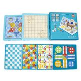 6 en 1 jeu multifonctionnel d'échecs jeu de société jeux familiaux science et éducation jouet pour enfants