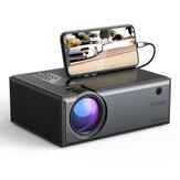 [Plug UE] Blitzwolf® BW-VP1-Pro LCD Projetor 2800 Lumens Telefone Mesma versão de tela Suporte 1080P Entrada Dolby Audio Wireless portátil Smart Home Theater Projetor Beamer
