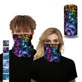 Galaxy Series-Multi-function Anti-sweat Dustprooof Face Mask Scarf,Balaclava Bandana,Headwear,Head Wrap,Neck Gaiter,Headband, Sport Scarf,Tubular Headwear Wraps