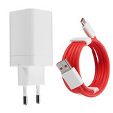 5V 4A Original Fast Phone Charger EU Adapter Type-C Cable Til ONEPLUS 3T / 5