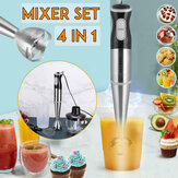 SOKANY 220V 4IN1 Hand Held Stick Blender Stainless Steel Electric Food Mixer Smoothie