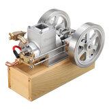 Eachine ET8 Orizzontale Hit and Miss Motore a doppia valvola a velocità regolabile a gas completo Modello STEM Upgrade Engine Toys