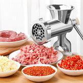TB12 Meat Grinder Sausage Filler Stainless Steel Manual Filling Machine for Pork Beef Fish Chicken Rack Pepper