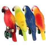 4stkSolarKraftedOutdoorGardenJulgransprydnad Novelty Bird Papegoja LED Night Light