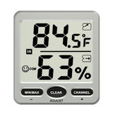 TS-WS-07-C1 8 Channel Wireless Weather Station Indoor Outdoor Termômetro Hygrometer Console