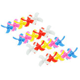 20PCS 31mm 4-blad Propeller för Kingkong / LDARC TINY 6 6X Tiny Whoop Eachine E010 E010C E010S Blad Inductrix RC Quadcopter