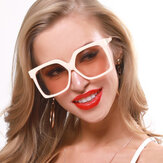 Retro Big Box New Sunglasses Contrast Color Sunglasses