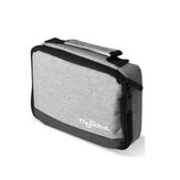 Thundeal Mini DLP Gray Portable Projector Bag Hand Carrying Case Protective Travel for Projection Outdoor Movie