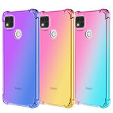 Bakeey Gradient Color with Four-Corner Airbag Shockproof Translucent Soft TPU Protective Case for Xiaomi Redmi 9C Non-original