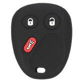 Zdalny klucz Pusta obudowa skrzynki Pad Pad dla GM GMC Yukon Chevrolet Isuzu 3 przyciski