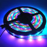 DC5V 5M SMD 5050 WS2812B RGB 10mm wasserdicht LED Lichtschlauch