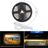 Waterproof DC5V 3M USB Powered Touch Dimming LED Strip Light for Outdoor Home Decoration