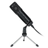 BM800 Condenser Microphone Studio Vocal Recording Mic Mount Boom Stand Kit Set