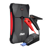 iMars Portable Car Jump Starter 1000A 13800mAh Powerbank Emergency Battery Booster Vattentät med LED-ficklampa USB-port