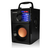 VAENSON A10 Portabel Bluetooth Speaker Nirkabel Kolom USB MP3 Mainkan FM Radio Stereo Subwoofer