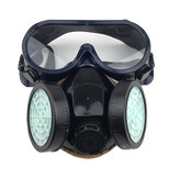 PVC / TRP Gas attivo carbone Maschera Spray Vernice chimica Anti-formaldeide antipolvere Maschera Fire Army Full Face protettivo Maschera