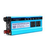 4000W LCD Solor Power Inverter DC 12V / 24V / 48V Do AC 220V Converter 3 gniazda 4 USB Port