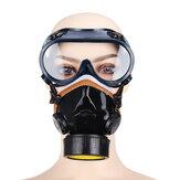 Maska przeciwgazowa PVC Chemiczna farba w sprayu Maska przeciwpyłowa z ochroną przeciwpożarową