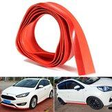2.5M X4.5CM Car Front Lip Bumper Strip Spoiler Rok Rubber Protector
