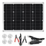 40W 18V / 5V Uscita Mono solare Pannello Doppio Porta USB Monocristallino flessibile Caricatore solare Caricatore per barca per camper Batteria