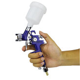 0.8mm / 1.0mm Boquilla H-2000 Profesional HVLP Spray G un Mini Air Paint Spray Guns Aerógrafo Para Pintar Coche Aerograph