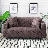 Capa elástica para sofá 1/2/3 lugares Protetor de assento de cadeira extensível Sofá capa deslizante para casa e escritório Acessórios e decorações