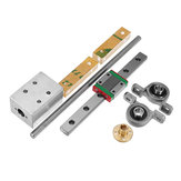 Machifit 150mm MGN12 Linear Rail Guide with T8 Lead Screw Set 8mm Lead