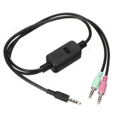 XOX MA2 3,5 mm Live Stream Streaming Soundkarte Adapter Kabel verbesserte Version