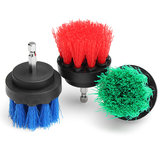 2 Inch Electric Power Scrub Drill Brush Bathroom Surface Tile Cleaning Brush