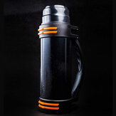 [From ] FO 1000ml Water Bottles Insulated 304 Stainless Steel Vacuum Cup Thermos Bottle Multiplayer Uses Insulation Pot for Sport Camping Travel