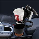 Многофункциональный 360 градусов вращения 3 кольца Rack Авто Water Cup Солнцезащитные очки Держатель телефона Хранение ключей Коробка