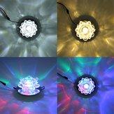 Moderna cristallo 3W LED soffitto loto luce apparecchio da incasso per lampada corridoio corridoio