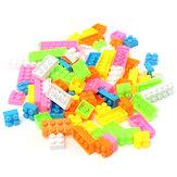 96ピース子供プラスチックパズル教育ビルディングブロック子供のおもちゃギフト