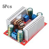 5Pcs DC-DC 15A Adjustable Boost Converter Constant Current Power Supply Module Car Charging Transformer LED Driver