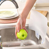 Kitchen Sink Splash Water Board Guard Vegetable Dish Washing Baffle Board